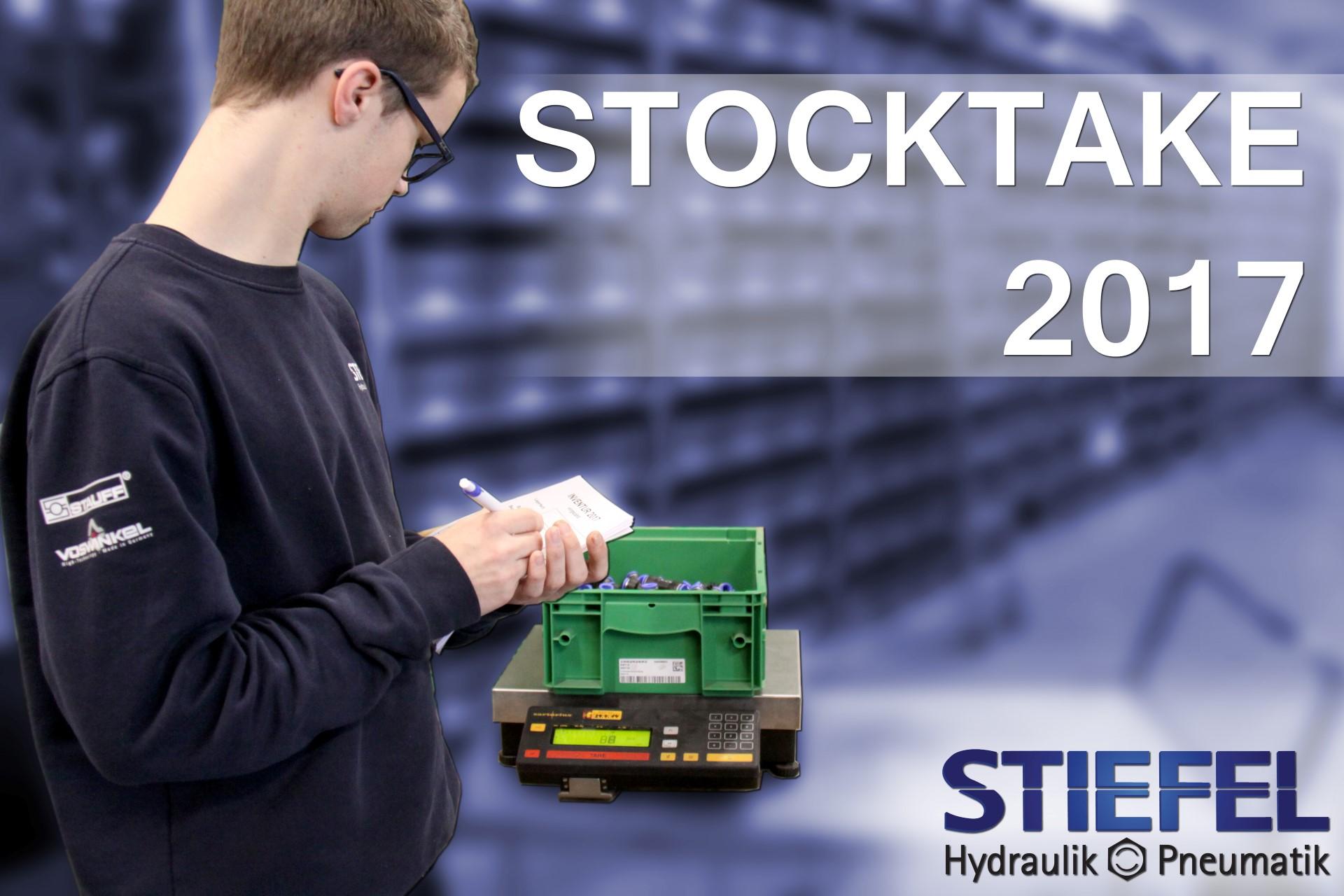 STOCKTAKE 2017 bei STIEFEL Waiblingen